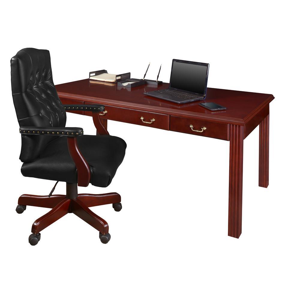 72 in. x 36 in. Prestige Mahogany  Writing Desk