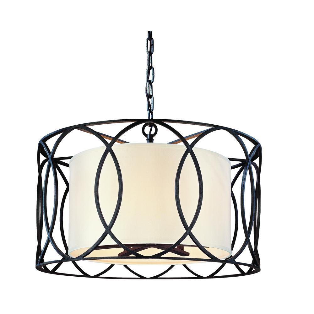 Sausalito 5-Light Deep Bronze Pendant