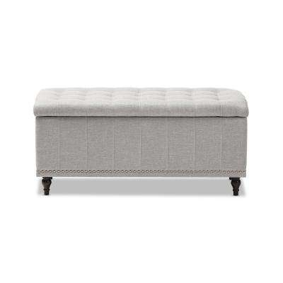 Kaylee Light Gray Bench