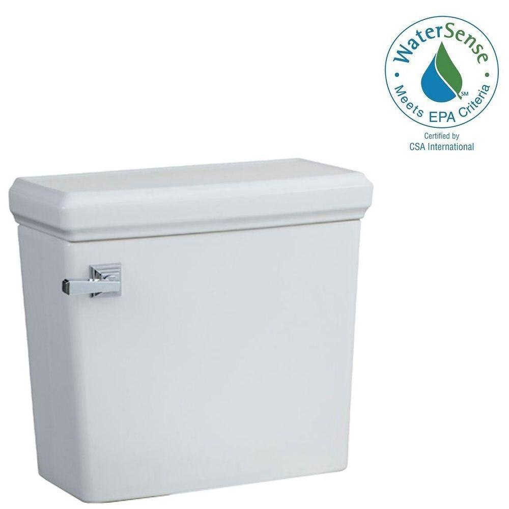 American Standard Town Square 1.28 GPF Single Flush Toilet Tank Only in White