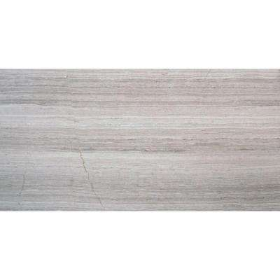 White Oak 3 in. x 6 in. Honed Marble Floor and Wall Tile (1 sq. ft. / case)