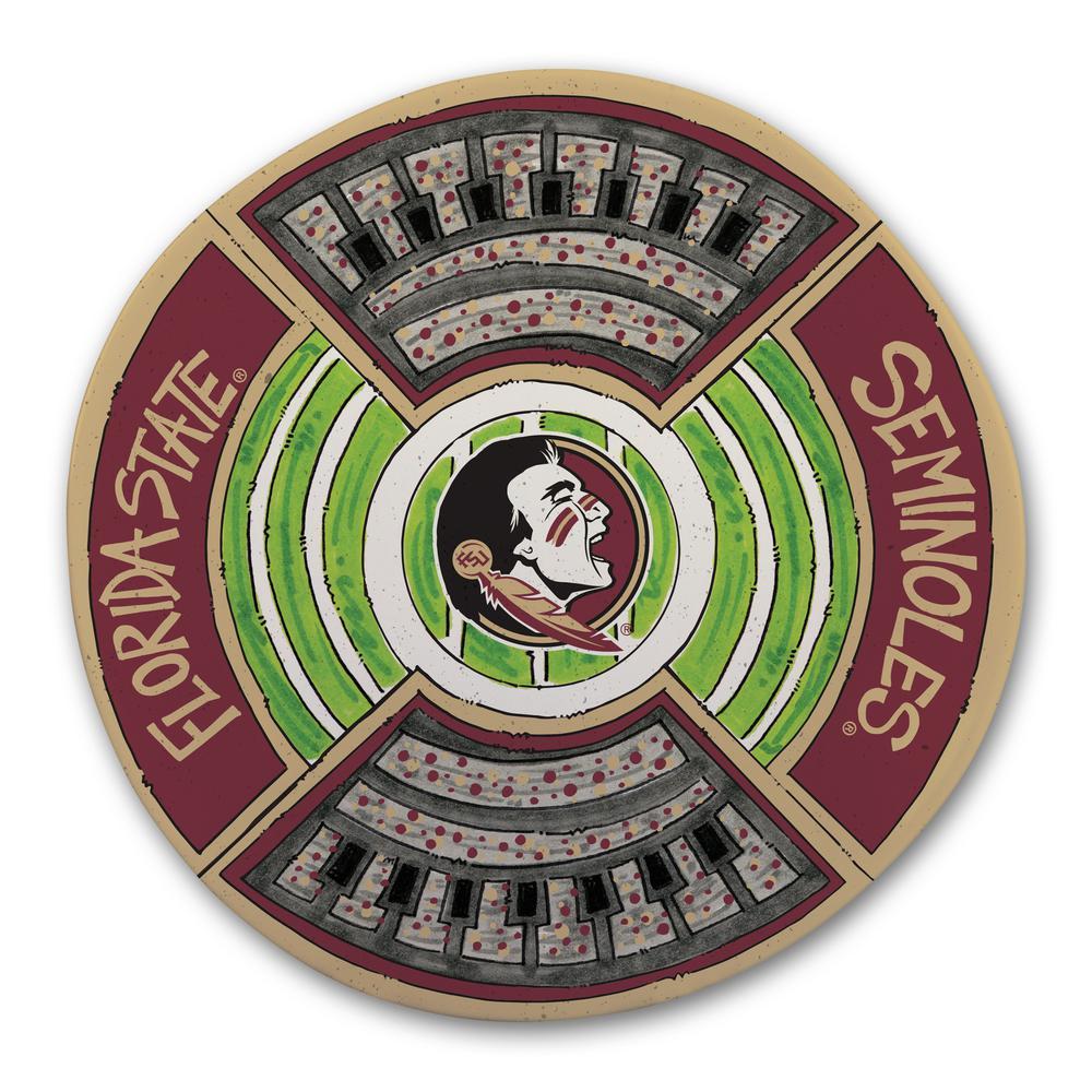 Florida State Football Stadium Melamine Platter
