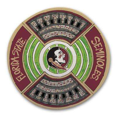 Florida State Football Stadium Melamine Platter