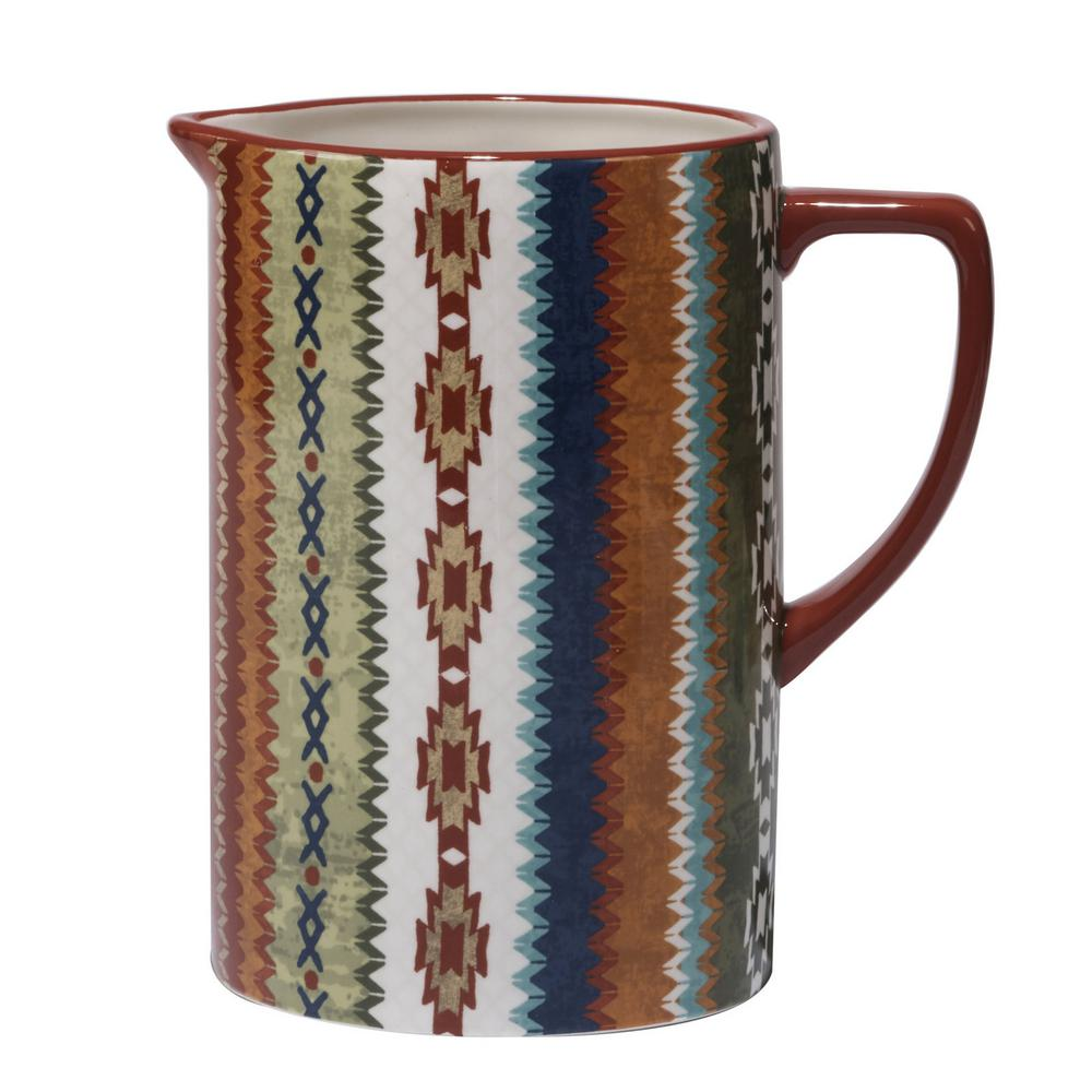 Monterrey 80 oz. Multi-Colored Pitcher