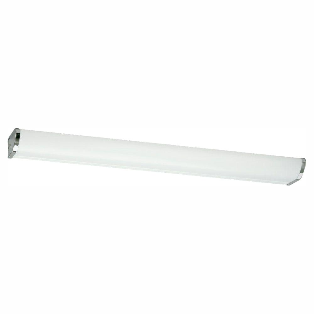 Sea Gull Lighting Wall/Bath Collection 2-Light Chrome Fluorescent Wall Light
