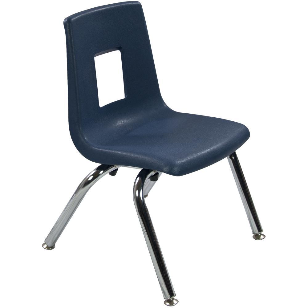 Advantage Navy Student Stack School Chair ADV-SSC-12NAVY