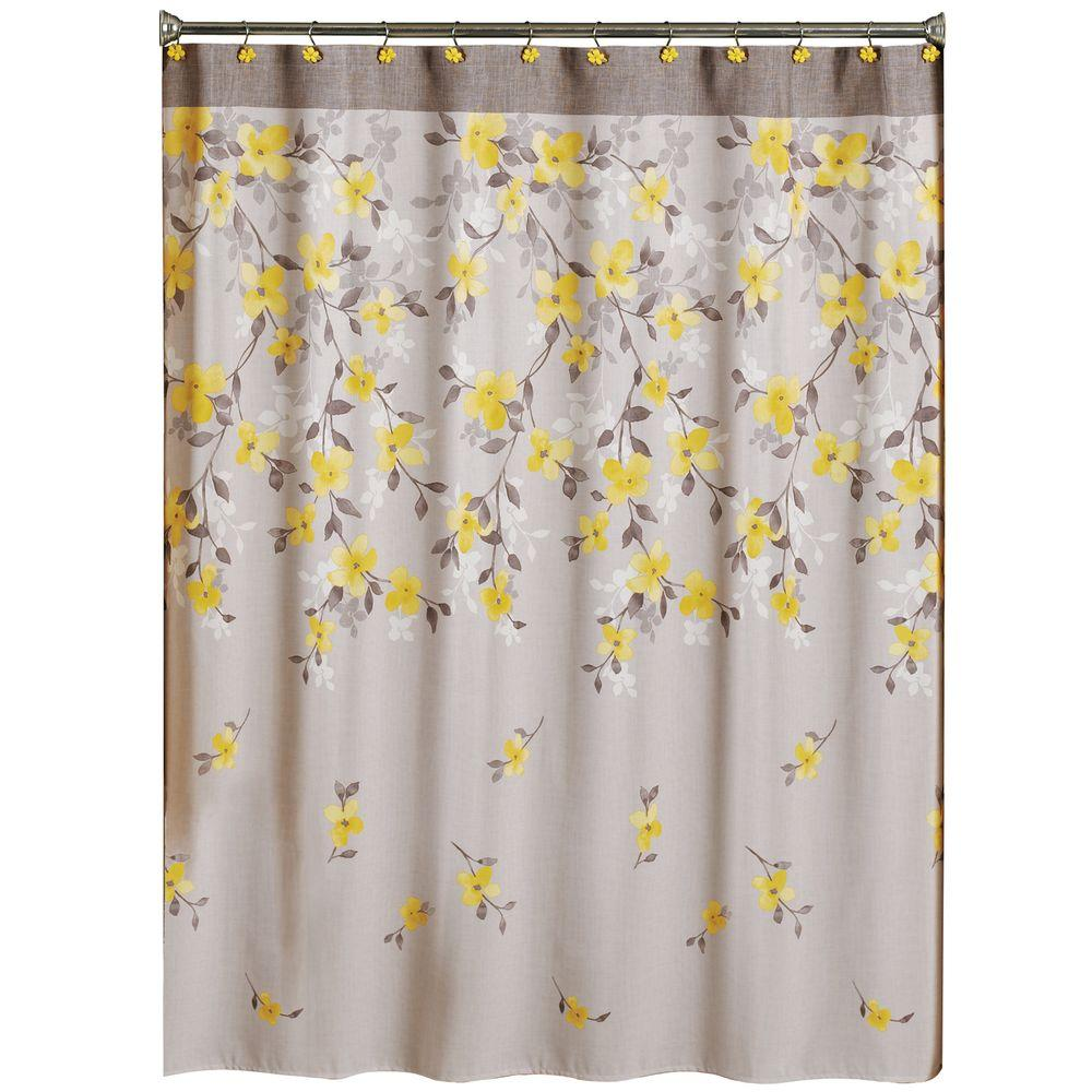 splatter in curtains yours fabric curtain shower or gray our