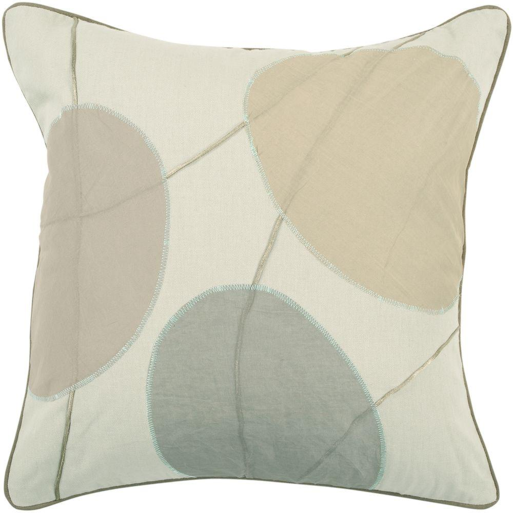 Artistic Weavers GeometricB1 18 in. x 18 in. Decorative Down Pillow-DISCONTINUED