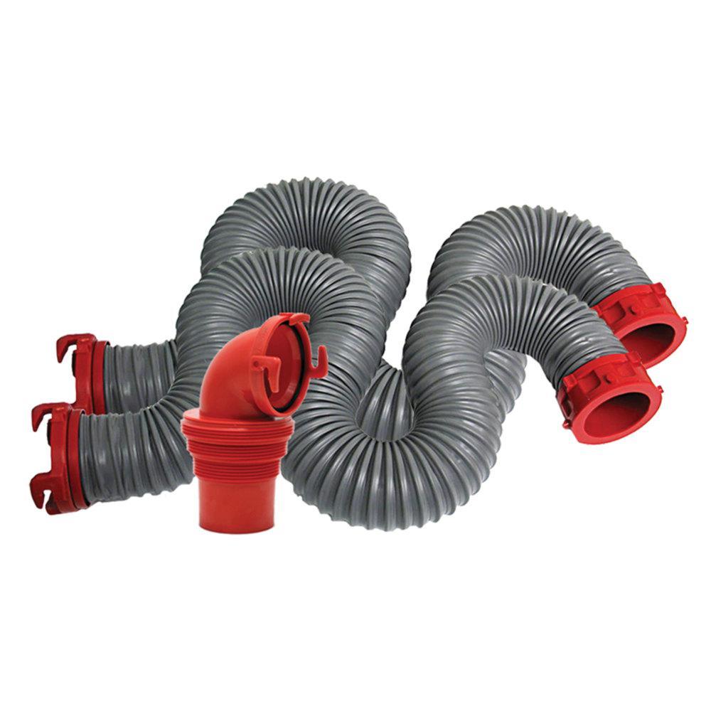 Valterra D04-0475 Gray 20 Viper Sewer Hose Kit