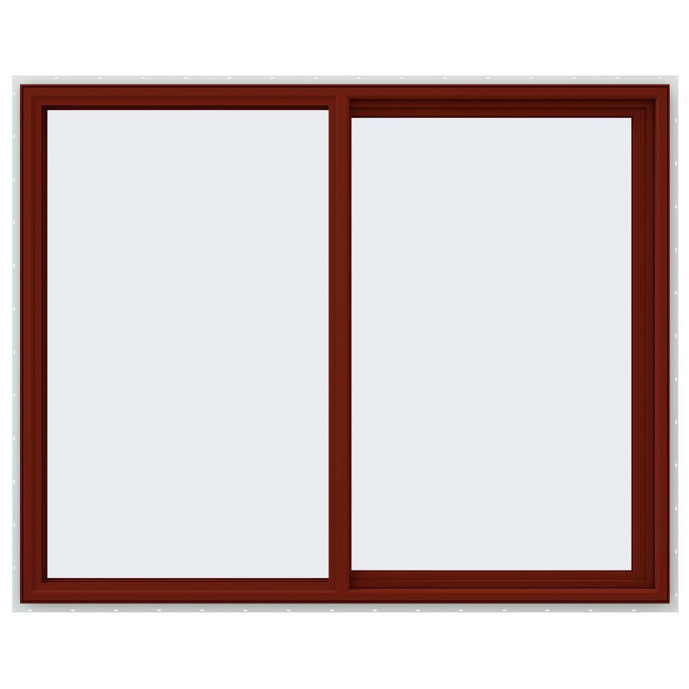 59.5 in. x 47.5 in. V-4500 Series Right-Hand Sliding Vinyl Windows