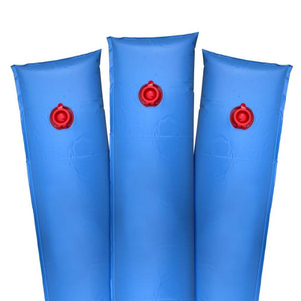 10 ft. Blue Single-Chamber Heavy-Duty Water Tubes for Winter Swimming Pool Covers (5-Pack)