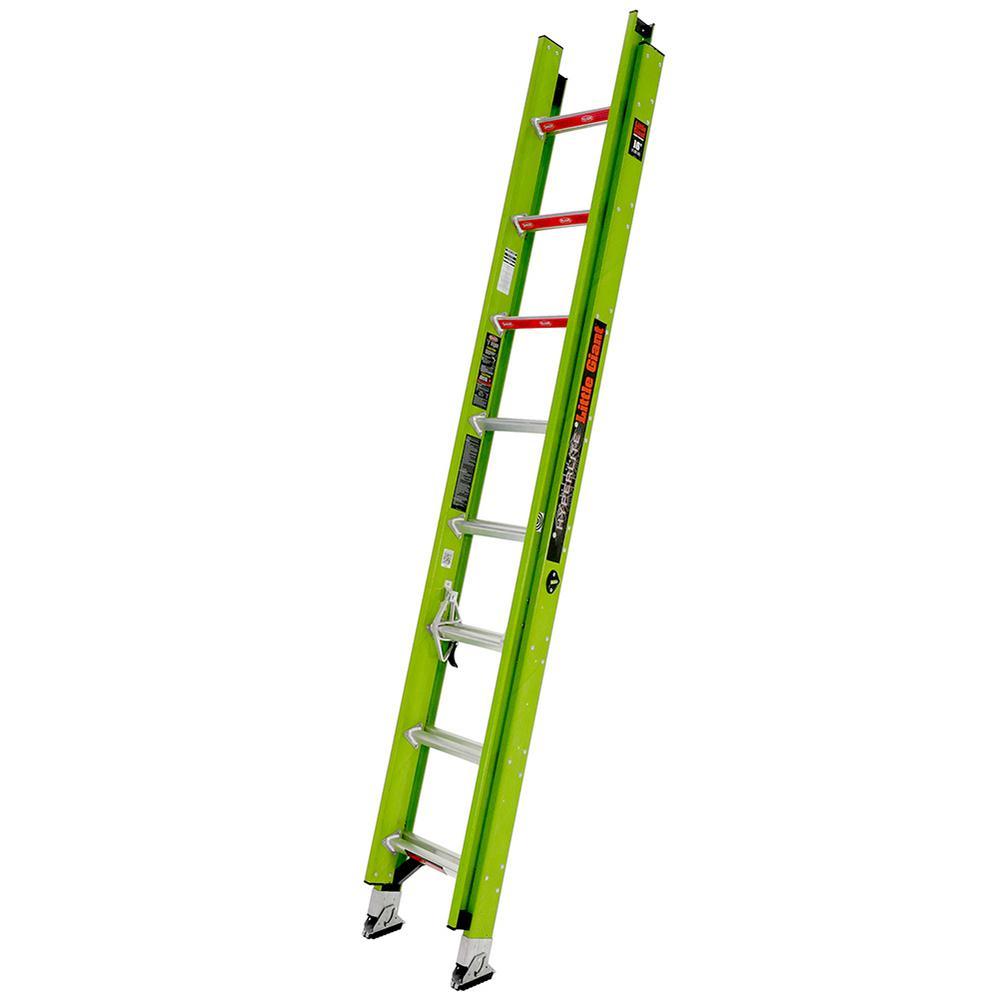 HyperLite 16 ft. Type IA Fiberglass Extension Ladder