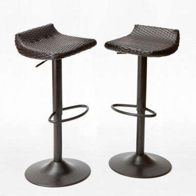 15 In Outdoor Bar Stools Outdoor Bar Furniture The Home Depot