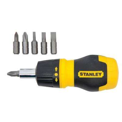 6 in 1 Ratcheting Screwdriver