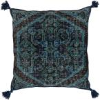 Phesari Navy Graphic Polyester 3In. x 3In. Throw Pillow