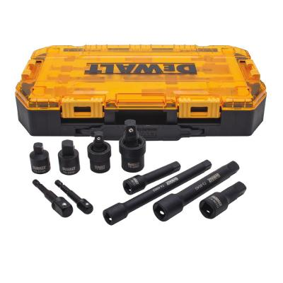 3/8 in. and 1/2 in. Drive Impact Accessory Set (10-Piece)