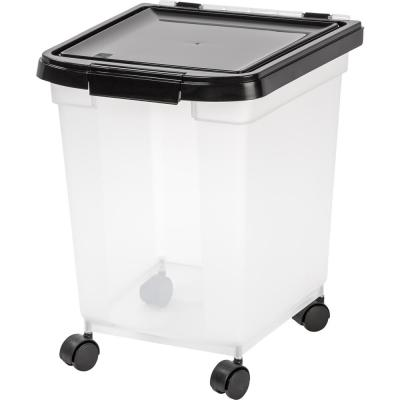 32 Qt. Airtight Pet Food Storage in Clear