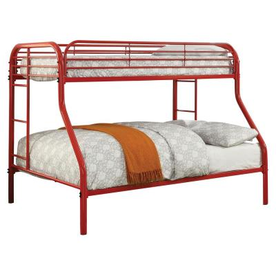 Red Opal Metal Twin over Full Bunk Bed