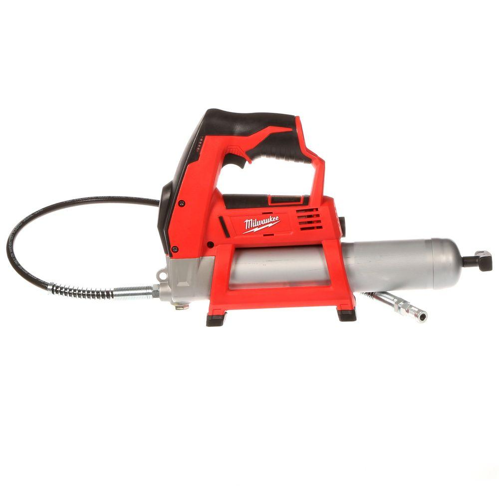 M12 12-Volt Lithium-Ion Cordless Grease Gun (Tool-Only)