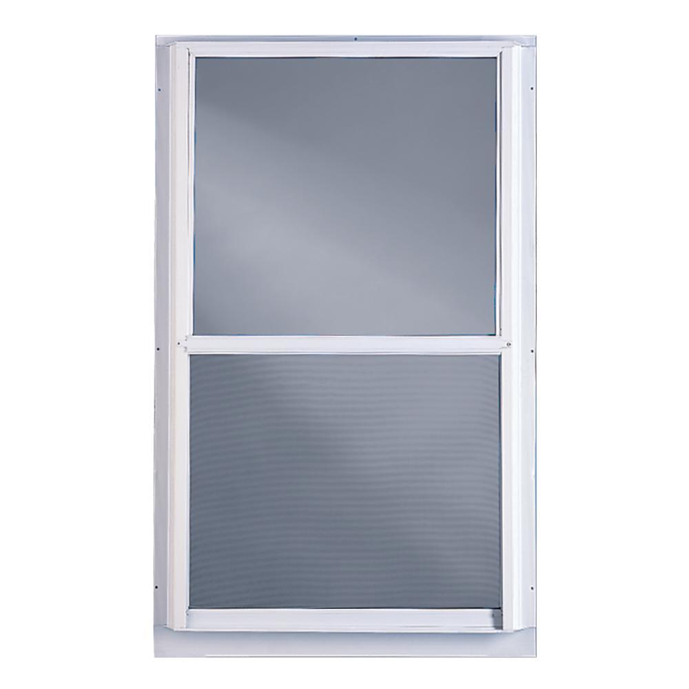 Weatherstar 36 In X 55 Storm Aluminum Window C3033655 The Home Depot