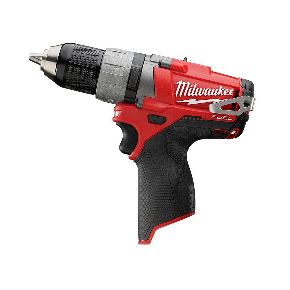 Milwaukee M12 FUEL 12-Volt Cordless Brushless 1/2 in. Drill and Driver (Tool-Only)