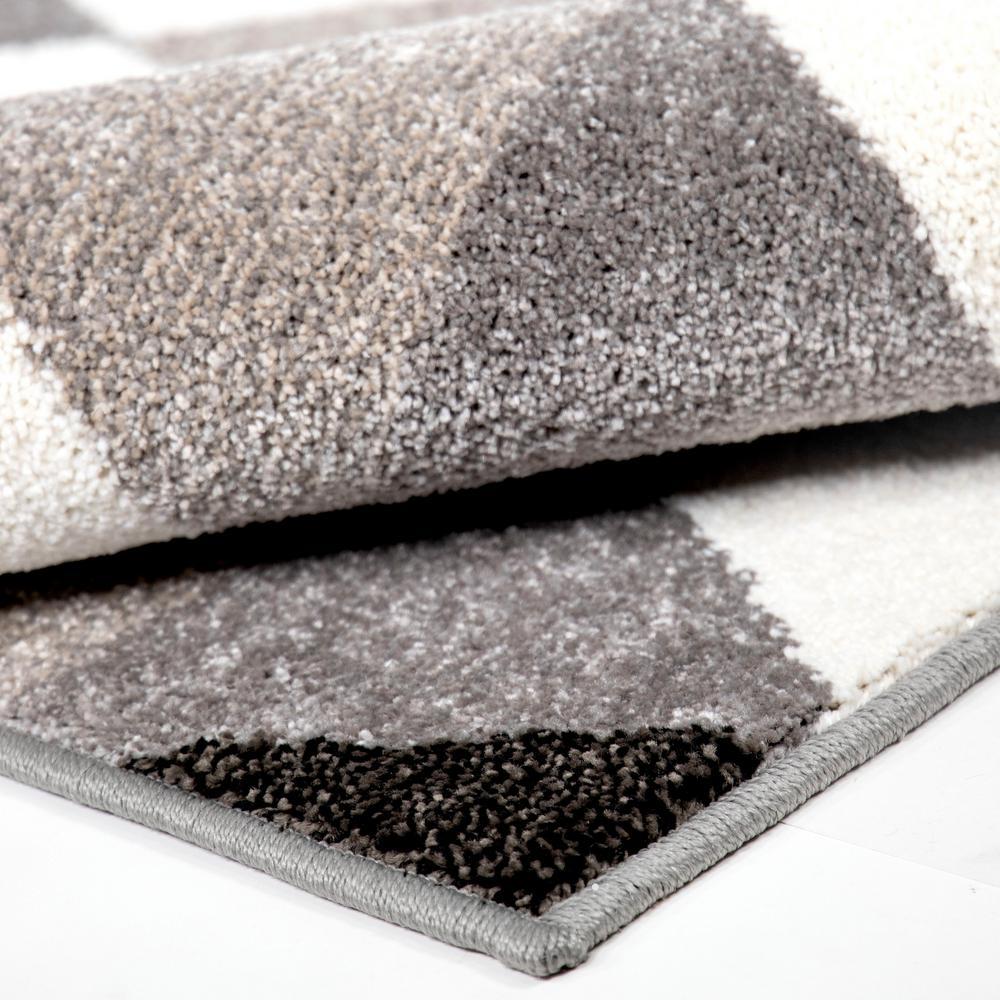 Orian Rugs Trimmer Gray Indoor 5 Ft X