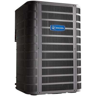 Signature 1.5 Ton 18,000 BTU up to 15 SEER R410A Central Split System Air Conditioning Heat Pump Condenser