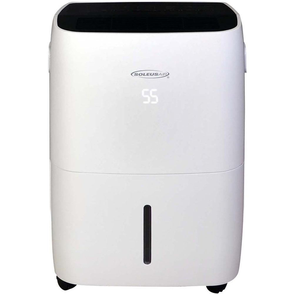 Soleus Air 70-Pint Dehumidifier with Built-In Pump and Wi-Fi Control