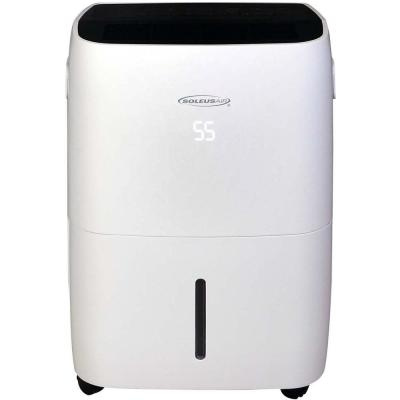 70-Pint Dehumidifier with Built-In Pump and Wi-Fi Control