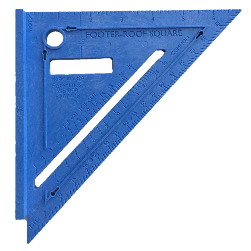 Varney Tools 2 In 1 Footer Roof Rafter Square Pack Of 2 032929