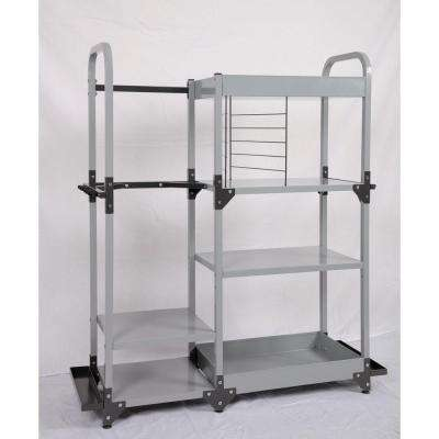 Heavy-Duty Metal Multi-Sport Organization and Storage Rack