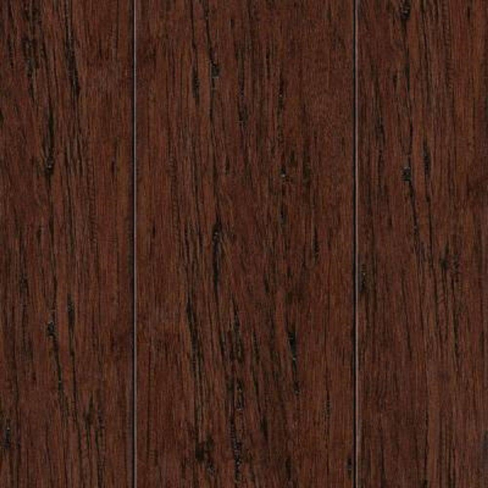Take Home Sample - Hand Scraped Strand Woven Mocha Bamboo Flooring