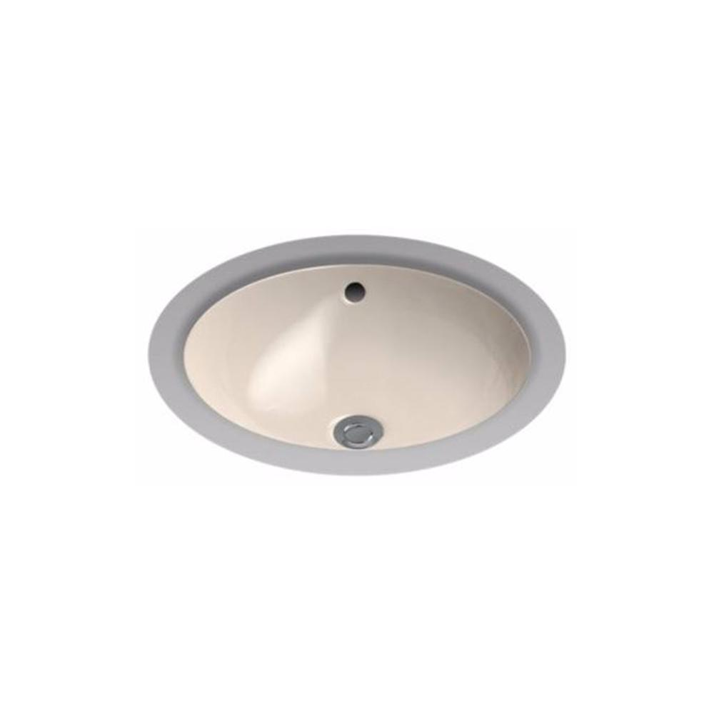Toto 16 in round undermount bathroom sink with cefiontect in bone lt193g 03 the home depot Toto undermount bathroom sinks