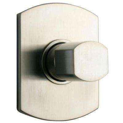 Novello 1-Handle Volume Control Valve Trim Kit in Brushed Nickel (Valve Not Included)