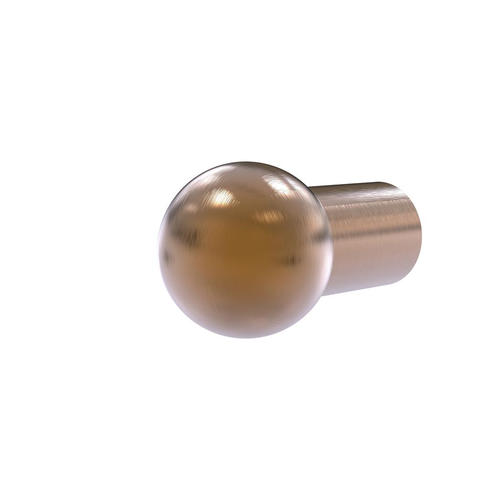 Allied Brass 3/4 in. Cabinet Knob in Brushed Bronze