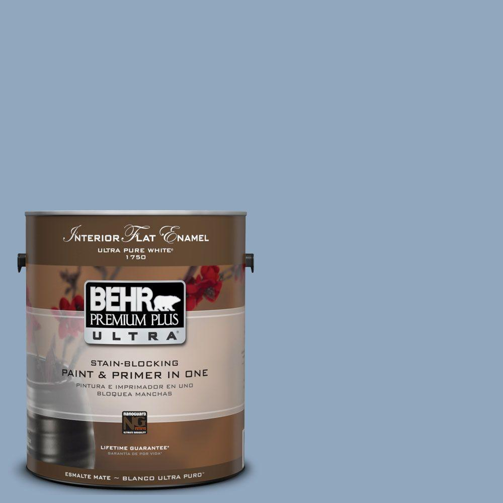 BEHR Premium Plus Ultra 1-Gal. #UL230-8 Paris Interior Flat Enamel Paint