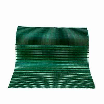 Barepath Forest Green 36 in. x 120 in. PVC Safety and Comfort Mat