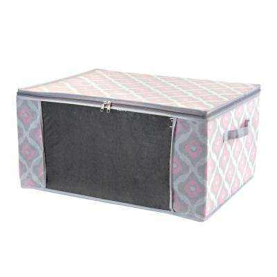 24 in. x 18 in. x 12 in. Blanket Bag in Ikat