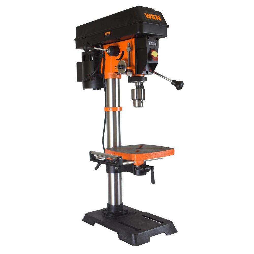 drill presses woodworking tools the home depot rh homedepot com Drill Press Vice Portable Drill Press