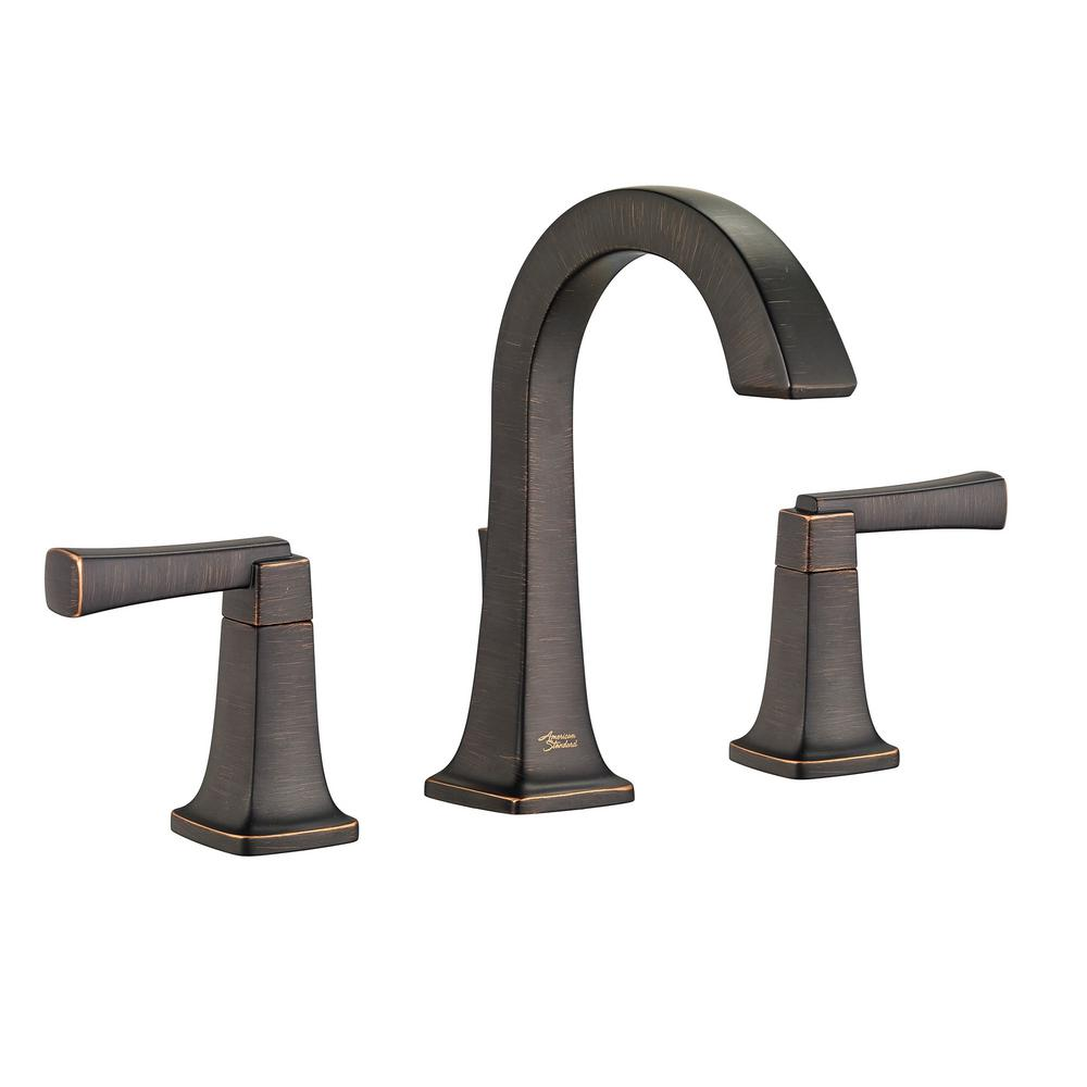 American Standard Townsend 8 In Widespread 2 Handle High Arc Bathroom Faucet With Speed Connect