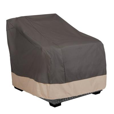 Renaissance Ultralite Water Resistant Outdoor Patio Lounge Chair Cover, 35 in. W x 38 in. D x 31 in. H, Gray