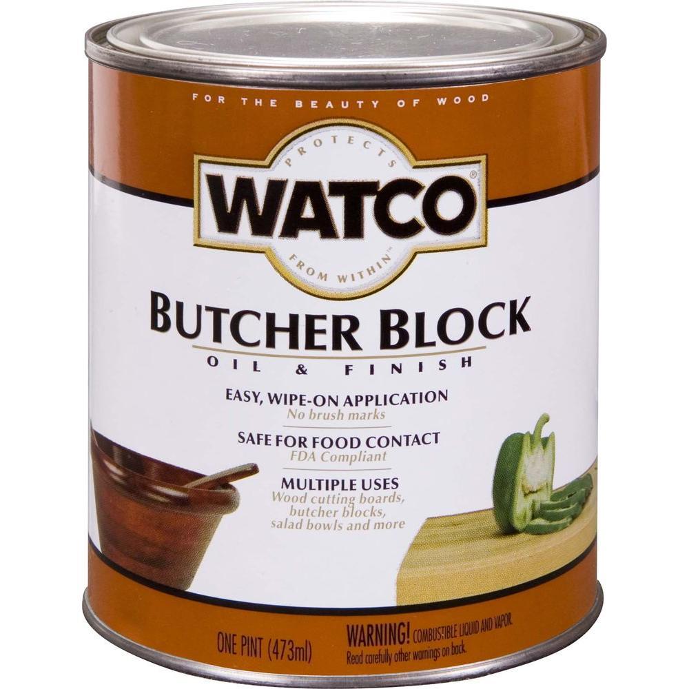 Clear Butcher Block Oil Case Of 4