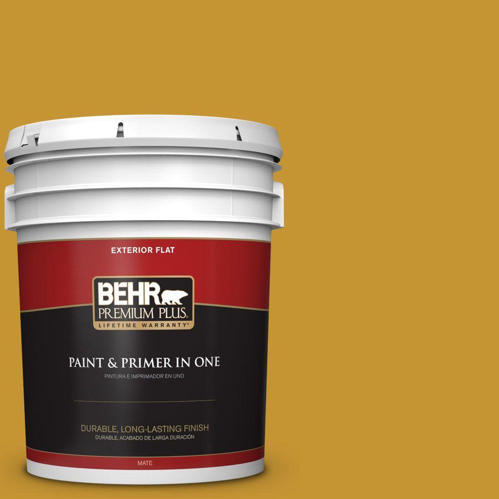 BEHR Premium Plus 5-gal. #S-H-360 Leisure Flat Exterior Paint