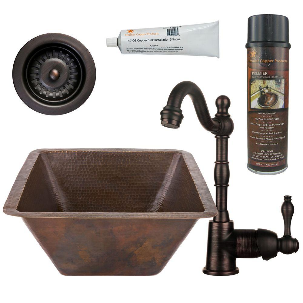 Premier Copper Products All In One Dual Mount Copper 17 In. 0