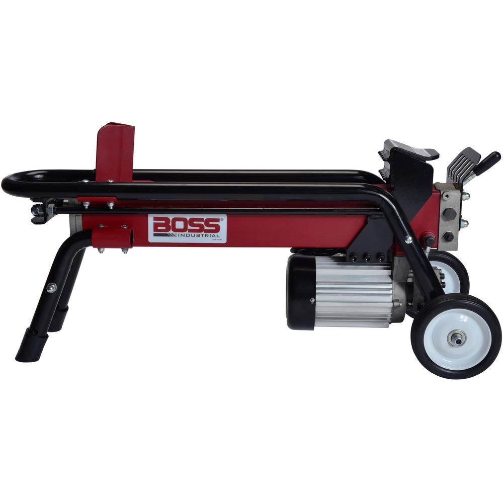 Boss Industrial ES7T20 7-Ton 13.5 Amp Electric Log Splitter