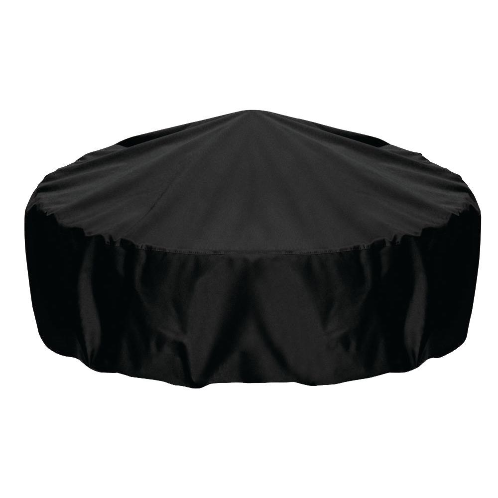 Fire Pit Cover In Black