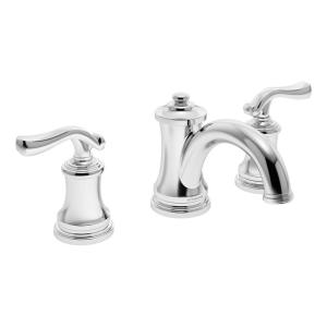 Winslet 8 in. Widespread 2-Handle Bathroom Faucet with Drain Assembly in Chrome