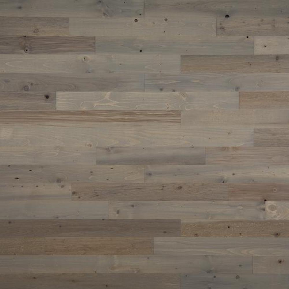 1/8 in. x 3 in. x 12-42 in. Peel and Stick Gray Wooden Decorative Wall Paneling (10 sq. ft./Box)