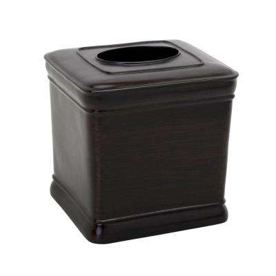 Marion Tissue Cube Cover in Oil Rubbed Bronze