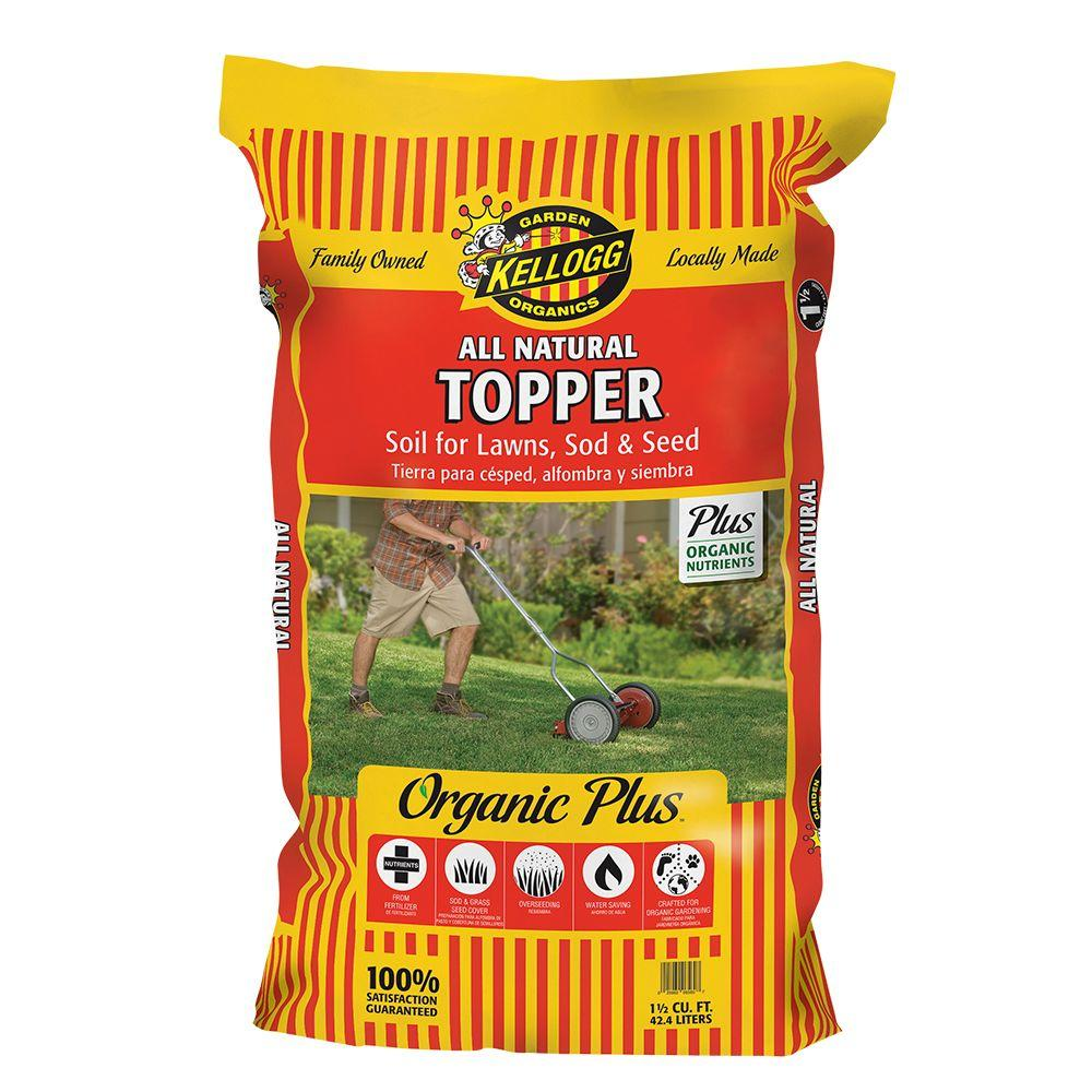 1.5 cu. ft. All Natural Topper Lawn Soil for Seed and